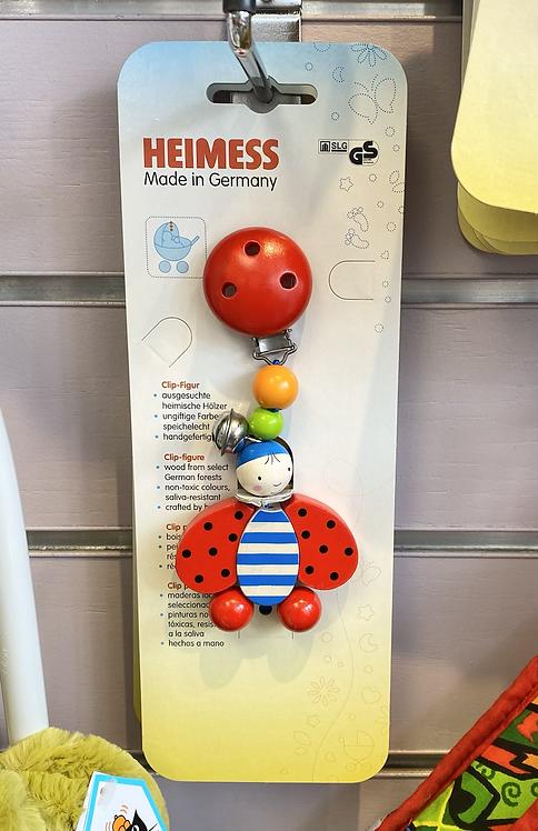 Heimess Ladybird Clip On Toy