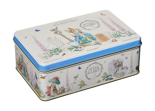 Peter Rabbit 100 Teabag Selection Tea Tin