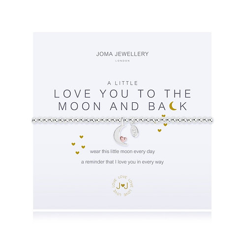 Joma A Little Love You To the Moon and Back Bracelet