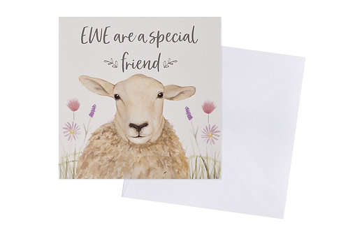 Ewe Are A Special Friend Card