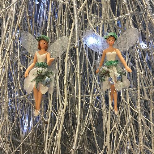 Small Eucalyptus Resin Fairy Decoration