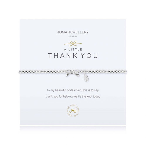 Joma A Little Thank You (Bridesmaid) Bracelet