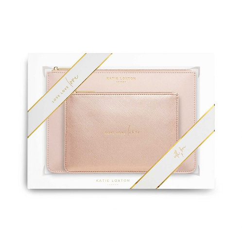 Katie Loxton Love Love Love Perfect Pouch Gift Set