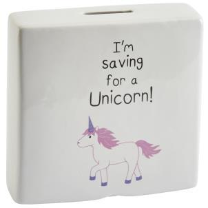 Saving for a Unicorn Money Box