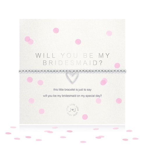 Joma Will You Be My Bridesmaid Bracelet
