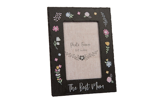 The Best Mum Slate Frame