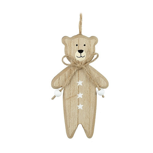 Wooden Bear Hanger (Can be Personalised)