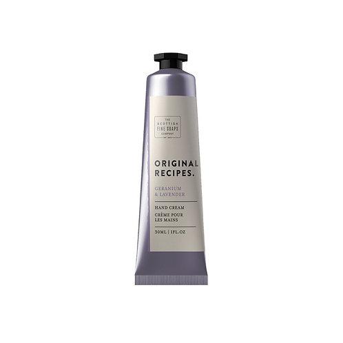Geranium & Lavender Hand Cream
