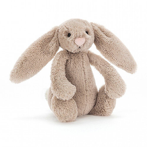 Jellycat Beige Bashful Bunny Small