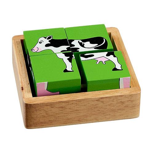 Lanka Kade Farm Animal Block Puzzle