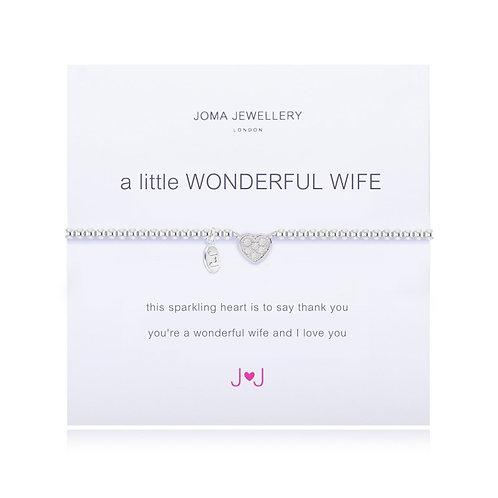 Joma A Little Wonderful Wife Bracelet