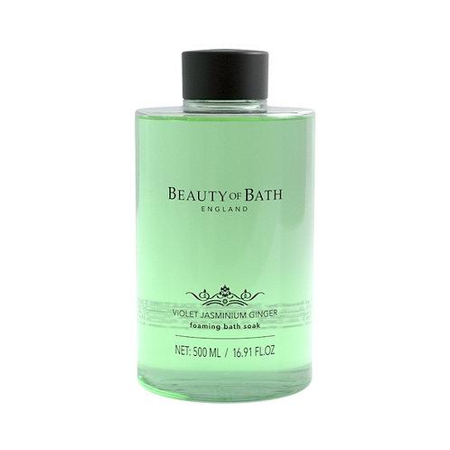 Beauty of Bath Foaming Bath Soak - Violet Jasminium Ginger
