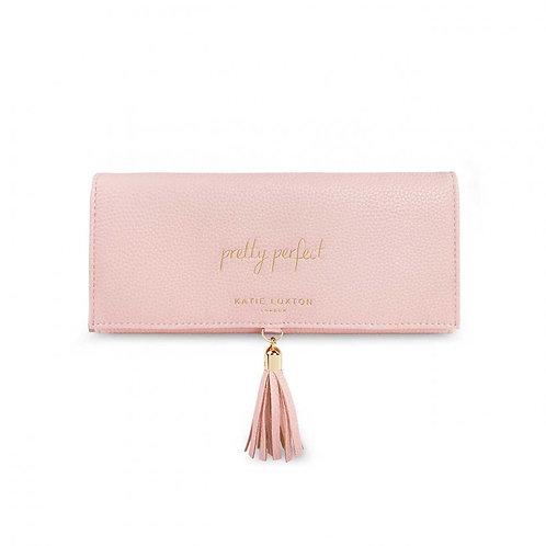 Katie Loxton Tassel Jewellery Roll Pink