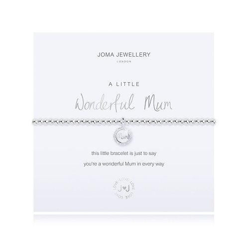 Joma A Little Wonderful Mum Bracelet