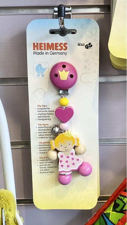 Heimess Princess Clip On Toy
