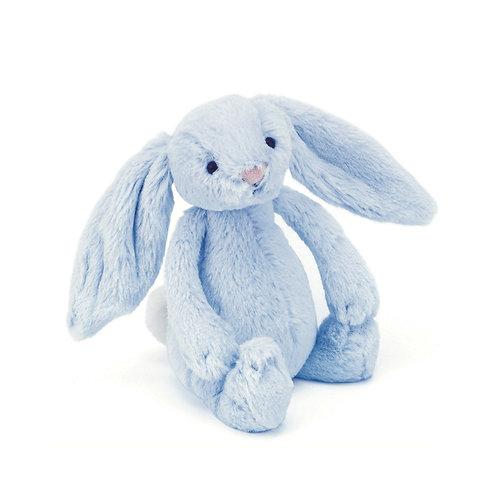 Jellycat Blue Rattle Bashful Bunny