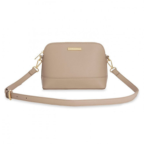 Katie Loxton Taupe Harper Cross Body Bag