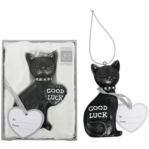 Lucky Black Cat Wedding Keepsake