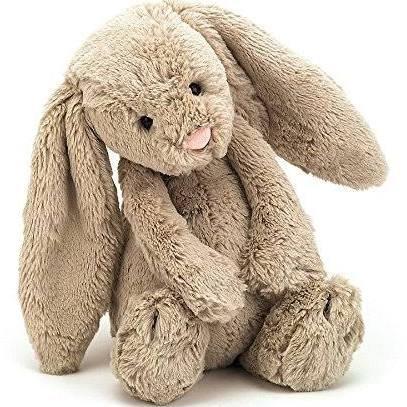 Jellycat Beige Bashful Bunny Medium