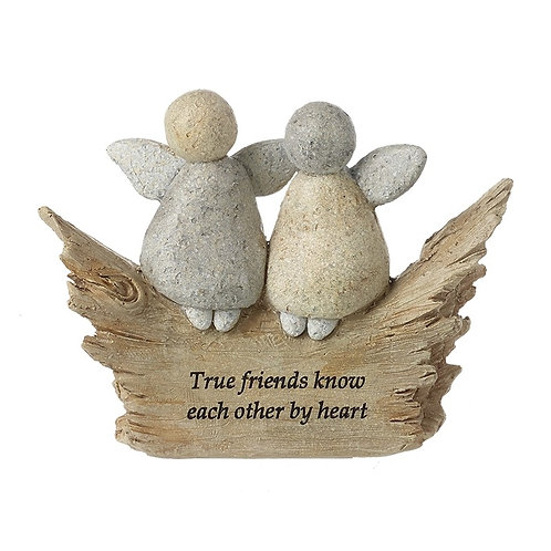 True Friends Resin Stone
