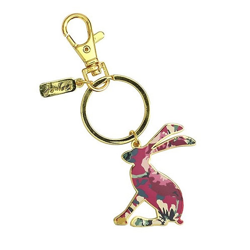 Joules Enamel Hop To It Keyring