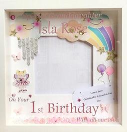 Custom Vinyl frame 1st birthday.jpg