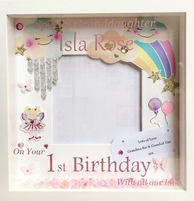 Custom Vinyl frame 1st birthday.jpg