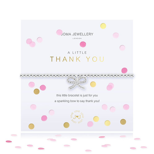 Joma A Little Thank You Bracelet With Confetti