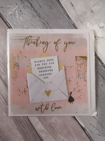 Thinking of You - Envelope Design