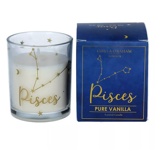 Pisces Zodiac Sign Candle