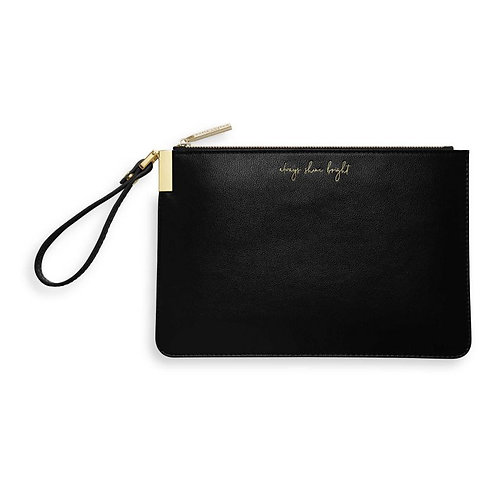 Katie Loxton Always Shine Bright Secret Message Pouch