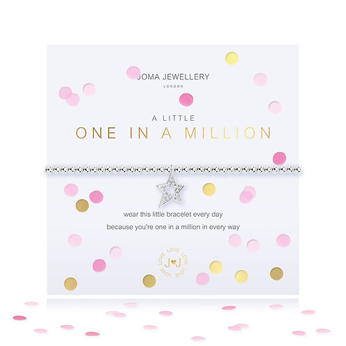 Joma A Little One In A Million Bracelet With Confetti