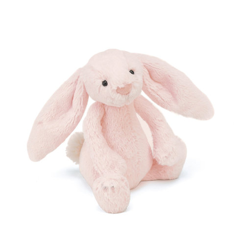 Jellycat Pink Rattle Bashful Bunny