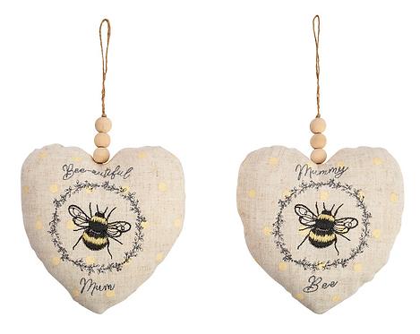 Mum Bee Heart Hanger