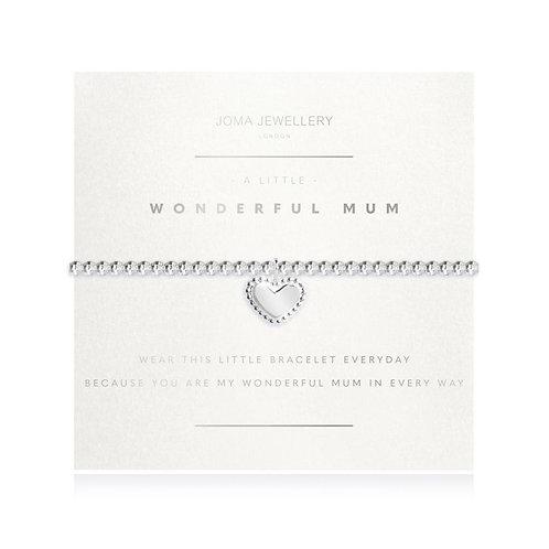 Joma A Little Wonderful Mum Faceted Bracelet
