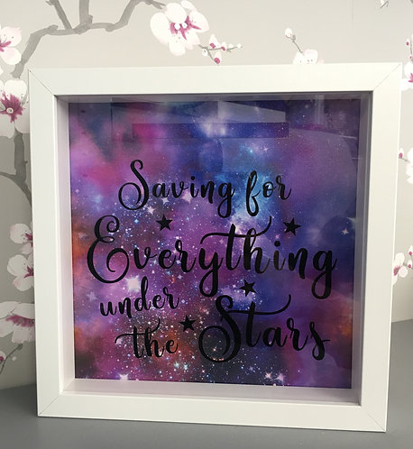 Saving for Everything Under the Stars 3D Money Box