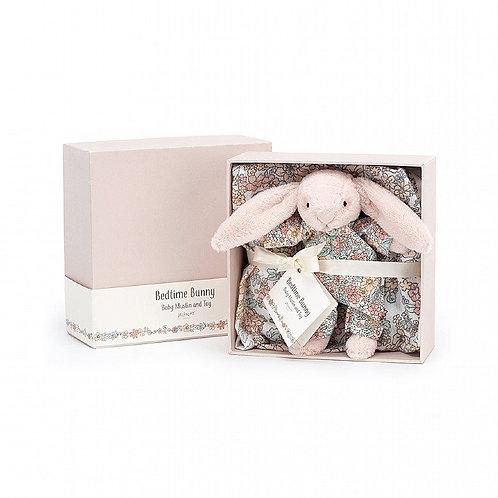Jellycat Bedtime Blossom Bunny Gift Set