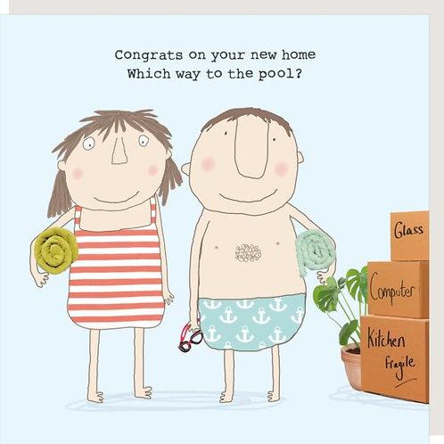 New Home Pool Card