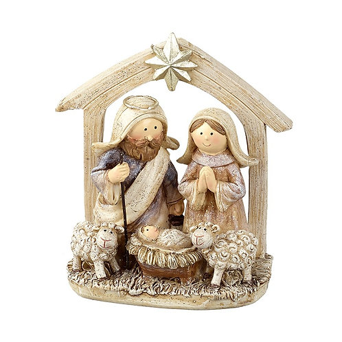 Nativity Stable Scene Ornament
