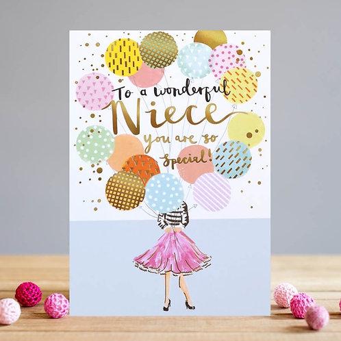 Wonderful Niece Card
