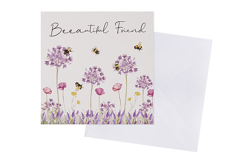 Beeautiful Friend Card