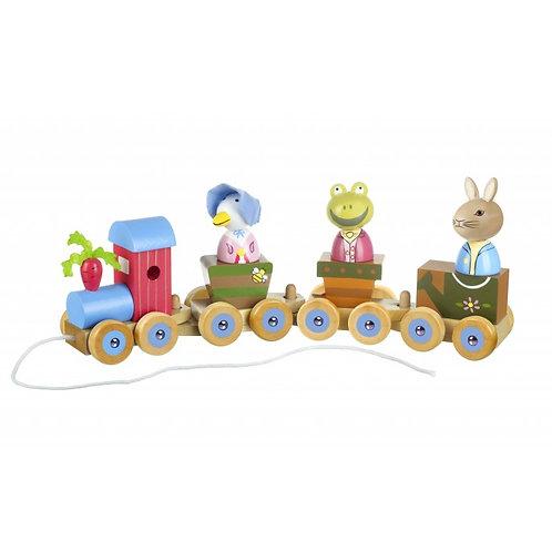 Orange Tree Peter Rabbit Puzzle Train
