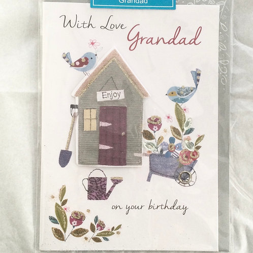 With Love Grandad Birthday Card