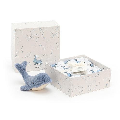 Wilbur Whale Gift Set