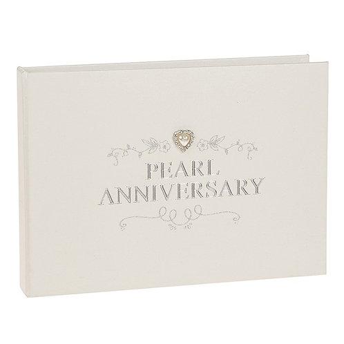 Jewel Pearl Wedding Anniversary Album