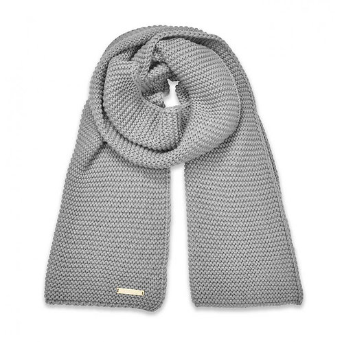 Katie Loxton Grey Chunky Knit Scarf
