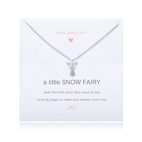 Joma Girls A Little Snow Fairy Necklace