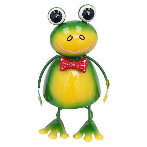 Dancing Frog Metal Garden Ornament