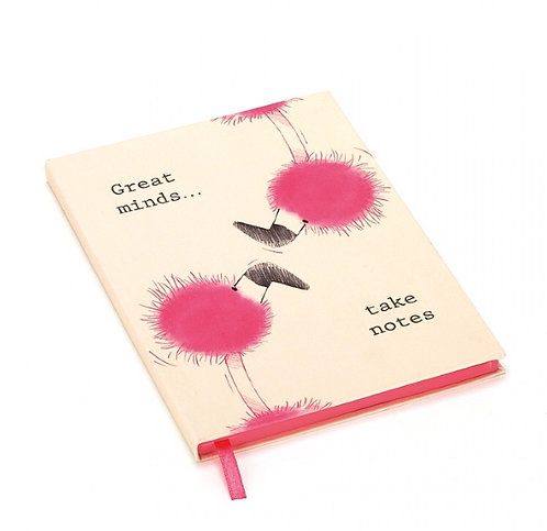 Jellycat Flaunt Your Feathers Great Minds Notebook