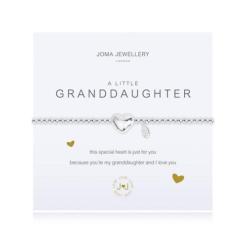 Joma A Little Granddaughter Bracelet